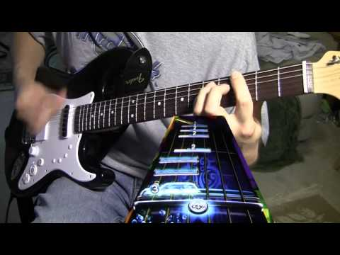 Blink 182 - Dammit Rock Band 3 Squier Pro Guitar Gold Stars