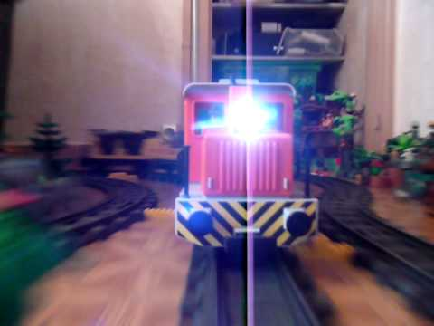 Train playmobil youtube for Salle a manger playmobil