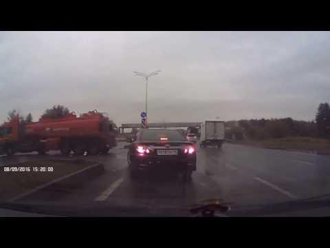 Аварии с участием бензовоза и зерновоза в Татарстане (08.09.2016)