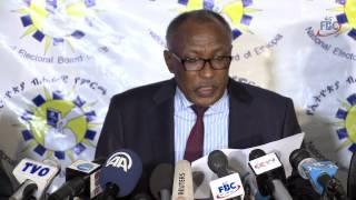 Ethiopian Election Board Press Release