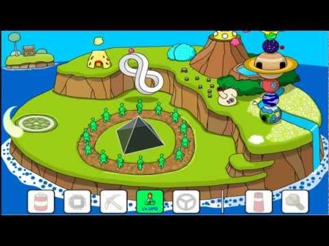เฉลย เกมส์สร้างเกาะ 1 [ ทำเป็น UFO ]