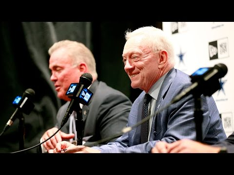 Dallas Cowboys Jerry and Stephen Jones talk about their NFL Draft pick Ezekiel Elliott