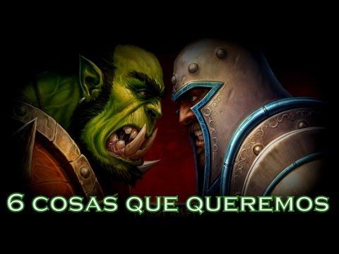 6 Cosas Que Queremos Ver en la película de Warcraft
