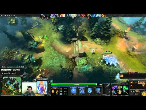Dota 2 Purge plays Crystal Maiden