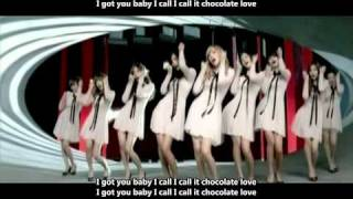 SNSD (Girls' Generation) - Chocolate Love MV [English subs + Romanization + Hangul] 720p