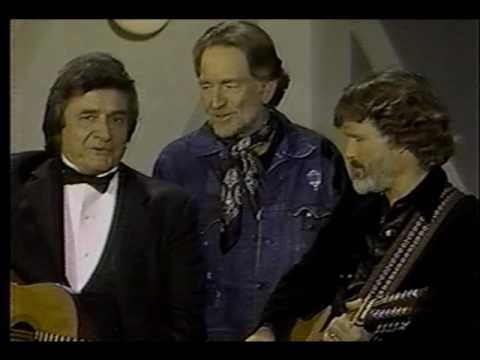Johnny Cash &  Willie Nelson & Kristofferson - Me and Bobby McGee Music Videos
