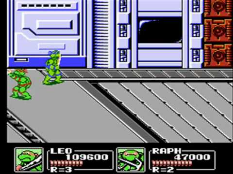 Ninja Turtles III: The Manhattan Project 2 player Netplay game