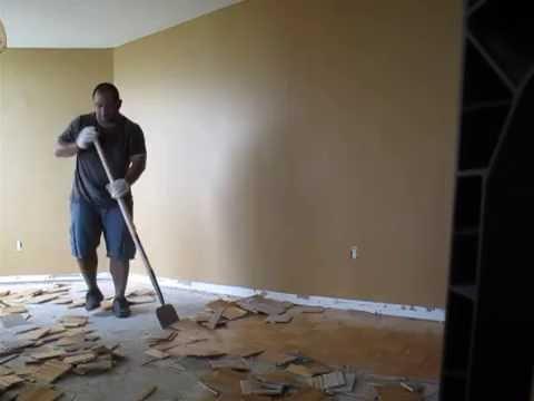 Removing Parquet Floor Youtube