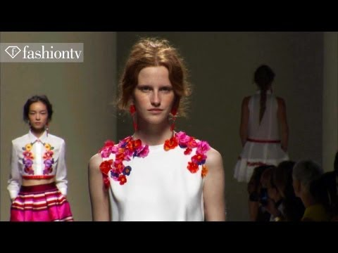 Alberta Ferretti Spring/Summer 2014 FULL SHOW   Milan Fashion Week MFW   FashionTV