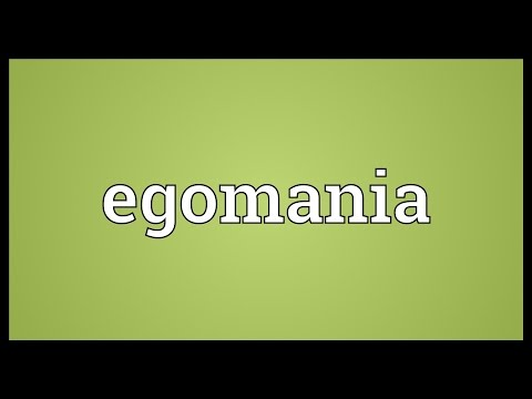 Header of Egomania
