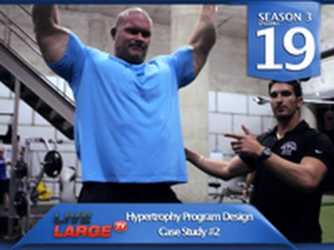1 Muscle Building Tip To Build a Bigger Back (part1) - LiveLargeTV.com (Season 3, Ep#19)