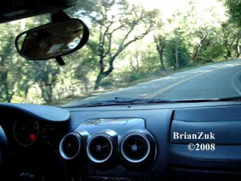 Ferrari F430 Spider In Action - Ride Rev Flybys Accelerations