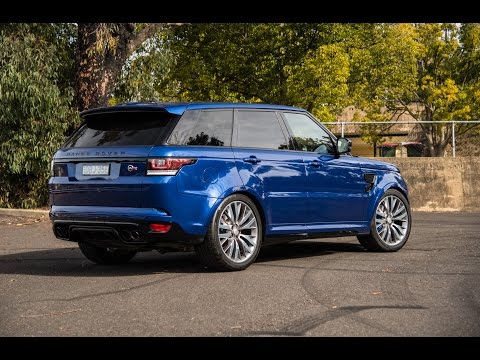 2016 Range Rover Sport SVR review - first impressions (POV)