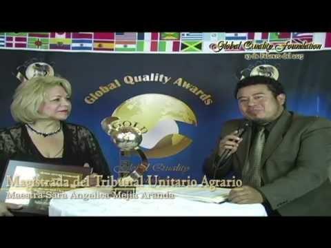 Magistrada del Tribunal Unitario Agrario Tuxpan Veracruz - Global Quality Foundation