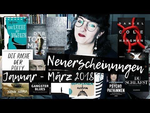 NEUERSCHEINUNGEN || Januar bis März 2018 | Melanie liest