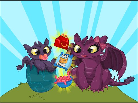 Toothless Dragon Video Game - How To Train Your Dragon: Lunch Surprise - Cutezee.com
