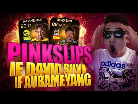 IF AUBAMEYANG & IF DAVID SILVA PINK SLIPS - FIFA 15