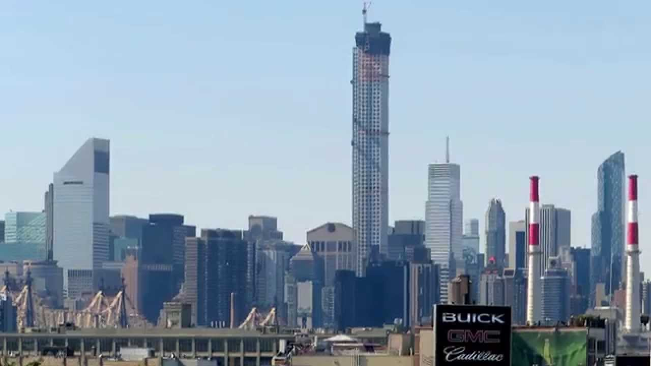432 Park Ave Nyc October 2014 Construction Update Youtube