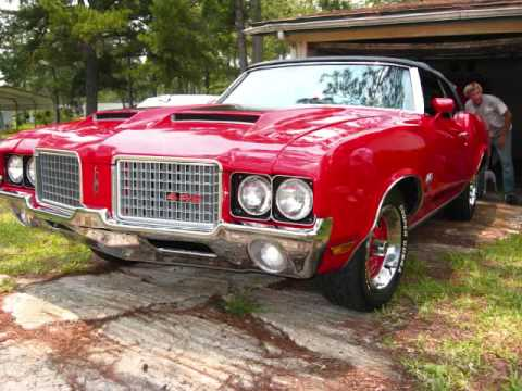 1972 Oldsmobile Cutlass 442 W-30 Video