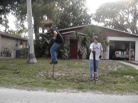Pogo Stick Backflip Fail (Original!)