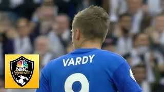 Jamie Vardy brings Foxes level against Burnley | Premier League | NBC Sports