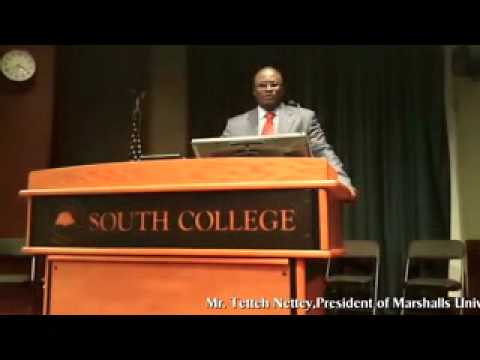 President Of Marshalls University Visits South College