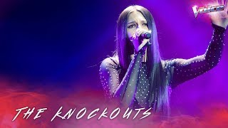 The Knockouts: Bella Paige sings It Will Rain | The Voice Australia 2018
