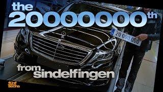 Dr. Z and the 20 Millionth Mercedes made in Sindelfingen (German)