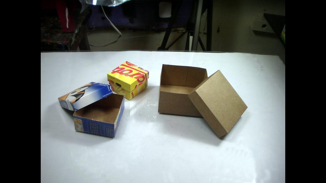 Artesanato:Como fazer caixas de papelão fino   #293F7D 2618x1964