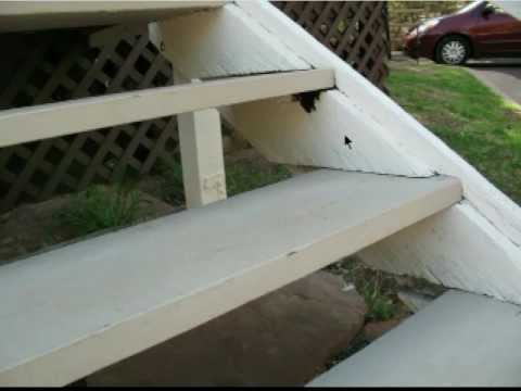Using Wood Blocks Instead Of Metal Brackets Stair