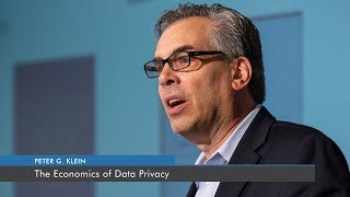 The Economics of Data Privacy | Peter G. Klein