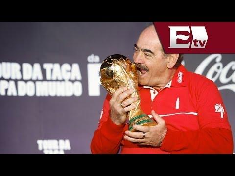 La Copa del Mundo llega a Sao Paulo y culmina gira por Brasil/ Pascal