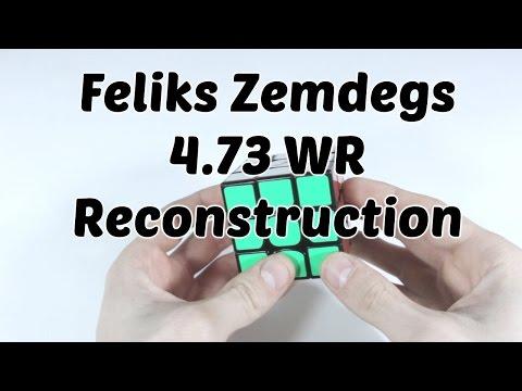 Реконструкция | Мировой рекорд по сборке кубика Рубика | 4.73