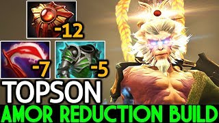 TOPSON [Monkey King] Pro Mid Lane with Amor Reduction Build 7.21 Dota 2