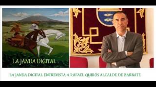 LA JANDA DIGITAL ENTREVISTA AL ALCALDE DE BARBATE RAFAEL QUIROS