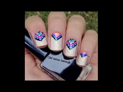 U as decoradas con esmalte sencillas youtube - Unas decoradas con esmalte ...