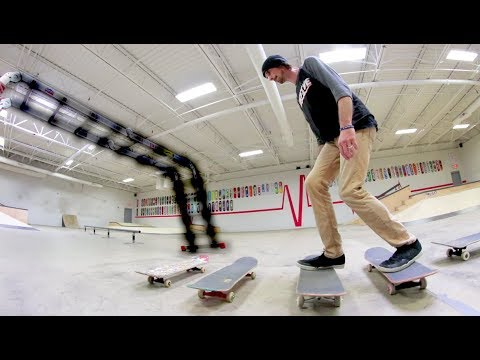 Epic Skateboarding Obstacle Course! / Warehouse Wednesday