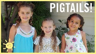 STYLE & BEAUTY | 3 Summer Pigtails