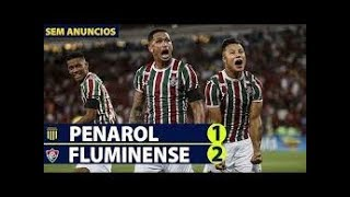 PENÃROL  1 X 2 FLUMINENSE - GOLS & MELHORES MOMENTOS COMPLETO SUL-AMERICANO 23/07/2019 #dazn