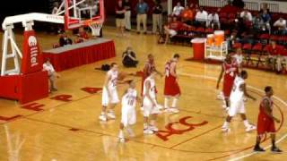 NC State Full Court Shot - Inches