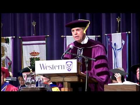 Autumn Convocation 2014 - Thomas D'Aquino