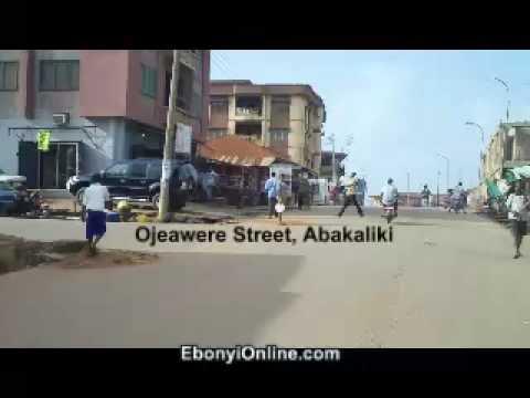 Abakaliki niger City Abakaliki Ojeawere Street