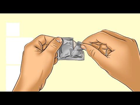Cómo colocarse el preservativo o condón