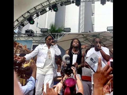 Lil Wayne, Diddy & Ma$e Perform