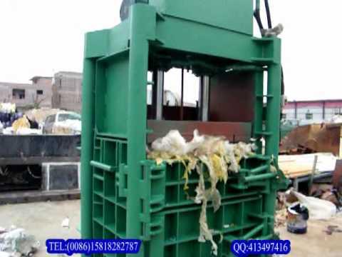 Hydraulic baler Paper/plastic/cardboard baler Baling ...