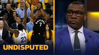 Skip and Shannon react to the Raptors' 123-109 Game 3 win vs. the Warriors | NBA | UNDISPUTED
