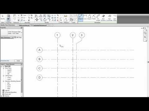 Entorno - Revit Architecture 2012 - Tutorial 05 - Distancias