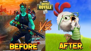 EXPECTATIONS VS. REALITY - TILTED TOWER METEOR & COMET (Fortnite)