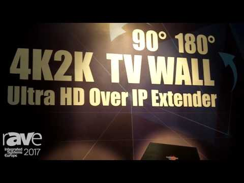 ISE 2017: t-WIN Highlights Superbox 4k2k Video Wall Solution