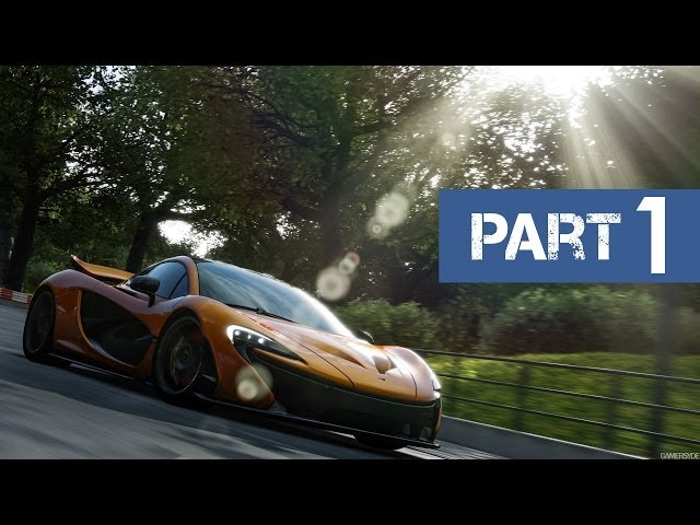 Forza Motorsport 5 Gameplay Walkthrough - Part 1 [Introduction/Prologue] (Xbox One)